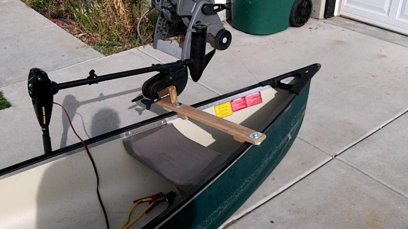 Canoe Motor Mount (4)