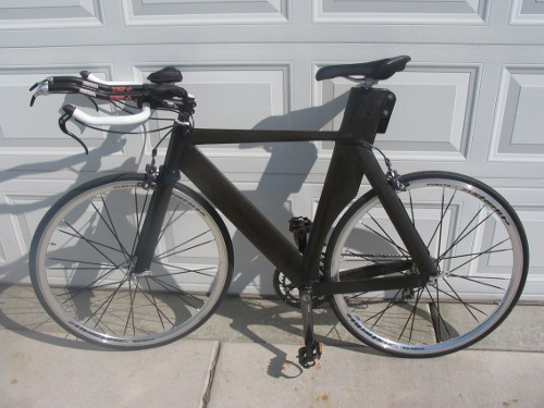 Homemade Carbon Fiber Bike