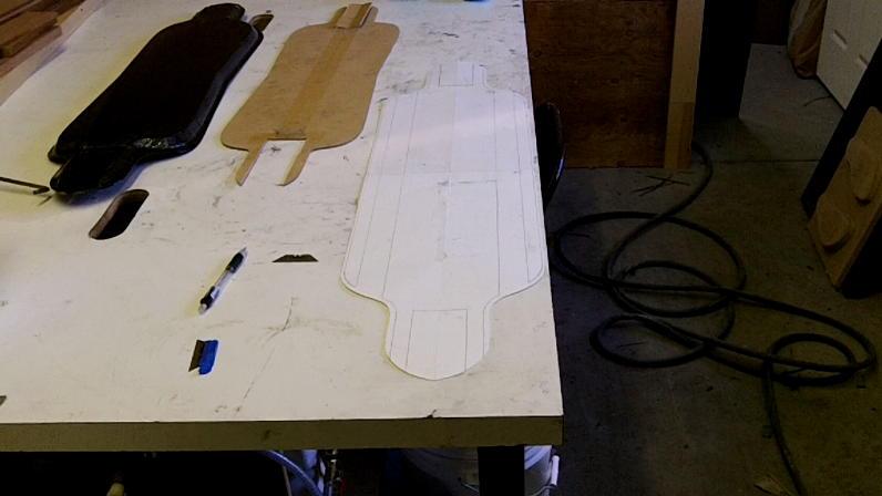 Custom Carbon Fiber Longboard