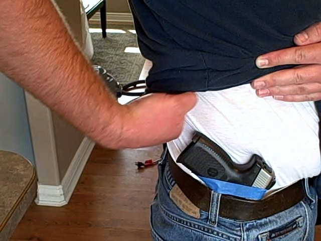 custom kydex holster cant to waistband