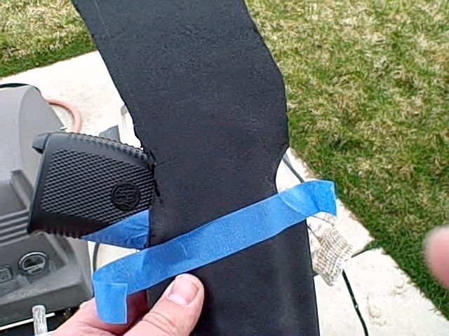 custome kydex holster matching the guns cant line 1