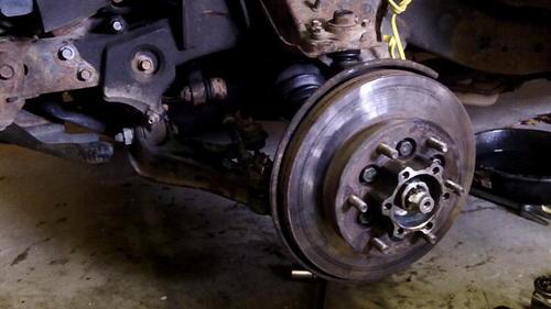 95 Izusu Rodeo Axle Replacement (59)